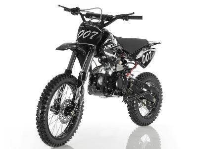 Apollo DB-007 125cc Dirt Bike Black
