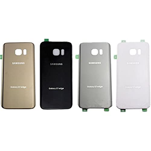 For Samsung Galaxy S7 edge OEM Rear Housing Back Case Battery Door Cover with Adhesive Pre-installed (White) Sales