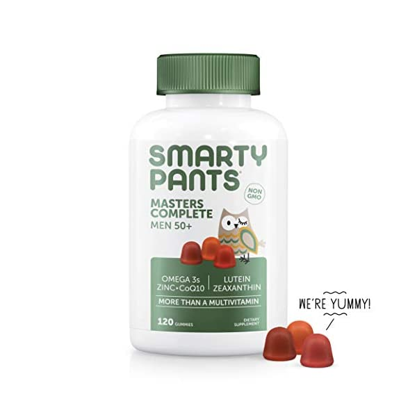SmartyPants Men's Masters Complete 50+ Daily Vitamins