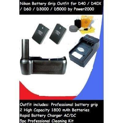 Power2000 empuñadura de batería/disparador Vertical y Digi ...