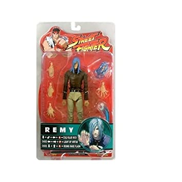 edb9221313e3c Amazon.com  Street Fighter Series 4 Remy (Brown Tan Variant with ...