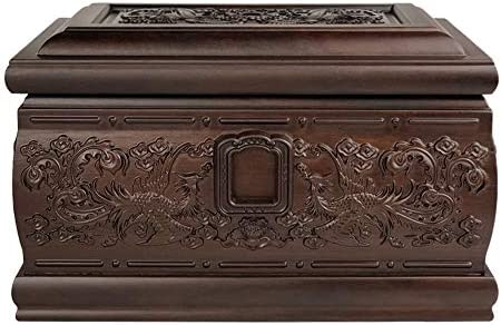 灰大人の骨壷 人間の灰大人のための壺 - 火葬壺は、永遠の愛のメモリーボックス - ビューティフルライフ壺はまた装飾効果(850 Cu.In)を持っています BUYT