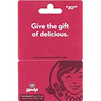 Wendy's $20 Gift Card