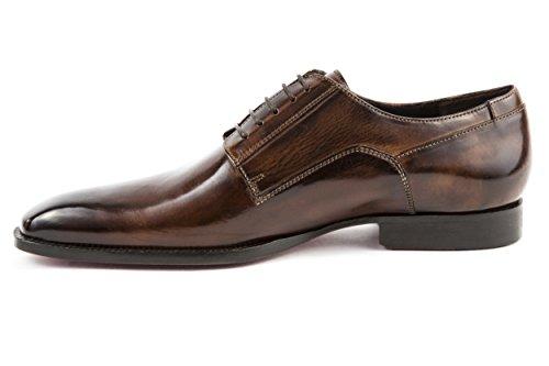 MELVIN & HAMILTON Herren Woody 1 Halbschuhe Business Schnürer Braun Gr. 42