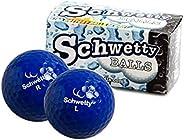 Schwetty Balls Blue Pair, Regular (Includes 2 Golf Balls)