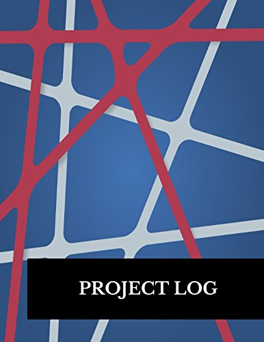 Project Log: Large 8.5 Inches By 11 Inches Construction Log Book - Project Log