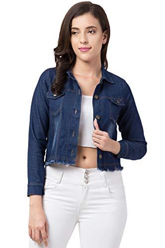 PrachikFashions Full Sleeve Solid Women Denim Jacket