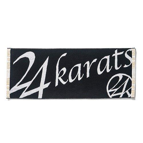 (24カラッツ) 24KARATS W-LOGO FACE TOWEL 24カラッツ ダブルロゴ フェイスタオル FACE TOWEL 852215 White