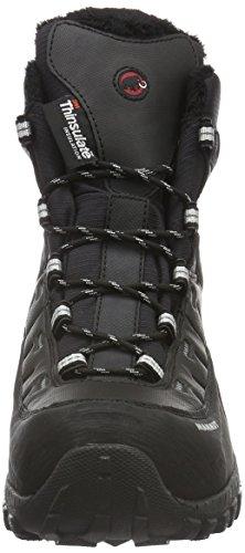 Mammut Blackfiniihighwp, Zapatos de High Rise Senderismo para Hombre Negro (Black-Silver)