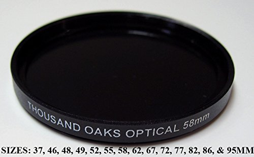 BP95-T - Threaded (SolarLite Film) Solar Filter for Camera by Thousand Oaks Optical