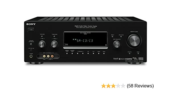 amazon com sony str dg910 7 1 channel home theater receiver rh amazon com Review Sony STR Dg910 Sony STR Dg910 7 1