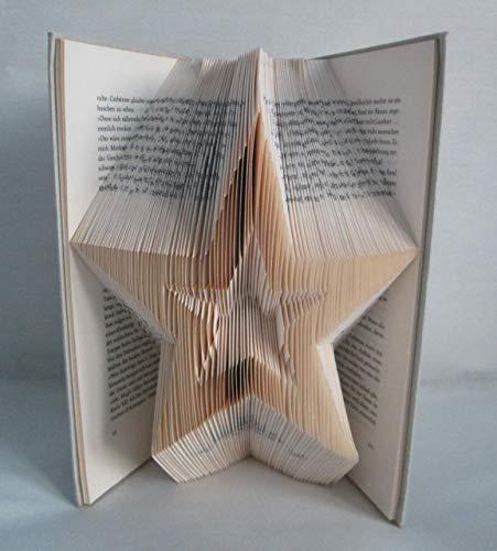 Buch Geschenk Weihnachten.Gefaltetes Buch Stern Als Geschenk Z B Für Weihnachten Oder Als