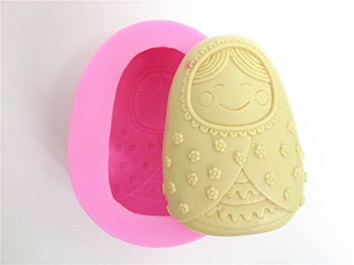 Wocuz W0007 Baby Shape Craft Art Silicone Soap Mold Candy Chocolate Making Mould