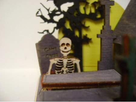 Ginger Cottages - Creepy Cemetery GB104 by Ginger Cottages (Image #1)