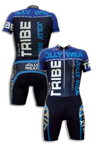 JOLLYWEAR Cycling Skinsuit - short sleeves and legs (MARC collection) - Skinsuit Cycle