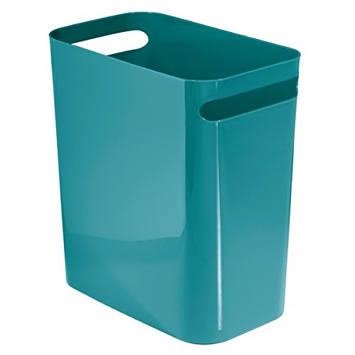 mDesign Wastebasket Bathroom Office Kitchen product image