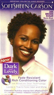 Dark & Lovely Color #386 Brown Sugar