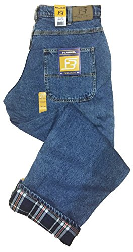 Lined 5 Pocket Jeans - 2