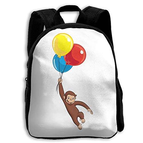 Fashion School Backpack Curious George Outdoor Casual Shoulders Multipurpose Backpack Travel Bags For Children,Kids