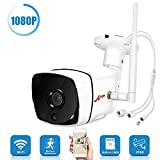 ANRAN AR-HX36 2.0MP WiFi IP Camera Outdoor 1080P Wireless Security Camera HD Night Vision Bullet Cameras with 16GB Micro TF,Motion Detection IP Cameras for Indoor Outdoor,Remote Access with Free APP