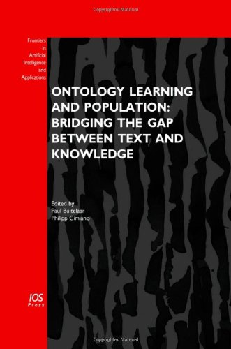 Ontology Learning and Population: Bridging the Gap between Text and Knowledge - Volume 167 Frontiers in Artificial Intel