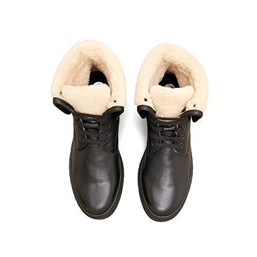 Kenneth Cole New York Hög Topp Ull Och Läder Sneaker - Mens Svart