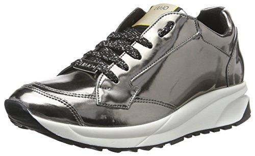 LIU JO Shoes - Sneaker S66025-EO329 - peltro Peltro Metallic