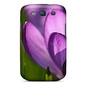 Top Quality Rugged Purple2 Case Cover For Galaxy S3