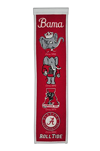 NCAA Alabama Crimson Tide Heritage Banner (Alabama Crimson Tide Applique)