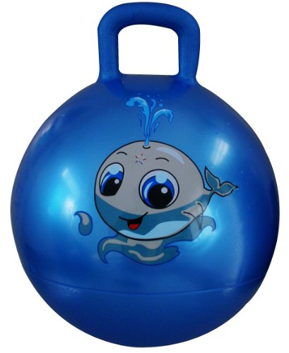Appleround Space Hopper Ball Blue 18in 45cm Diameter For