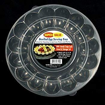 Deviled Egg Platter with Lid]()