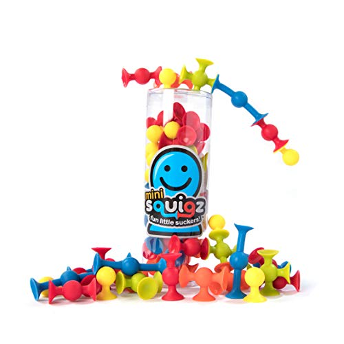 Set 30 Construction Piece (Fat Brain Toys 30 pc Mini Squigz - Mini Squigz 30 Piece Set Building & Construction for Ages 5 to 10)