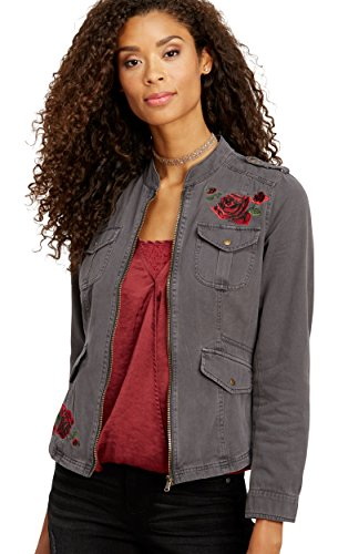 Embroidered Anorak Jacket - 6