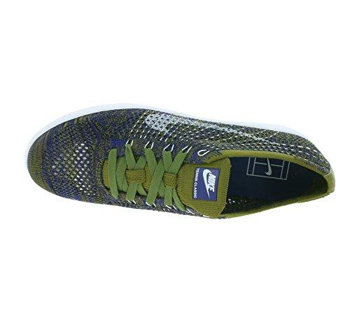 Nike 833860-301 - Zapatillas de deporte Mujer Verde (Olive Flak/White-Deep Royal Blue-Black)