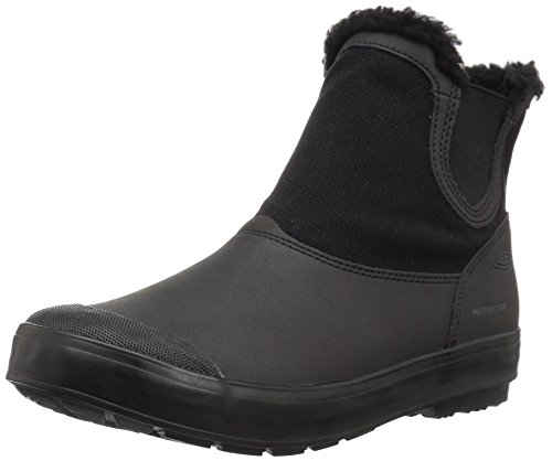 Keen Snow Boots (KEEN Women's Elsa Chelsea WP-w Snow Boot, Black/Black, 8 M US)