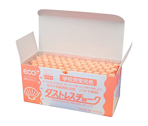 (Japan physics and chemistry Dasutoresu fluorescent chalk orange DCK-72-RG 72 )