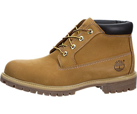 Timberland Men's Icon Waterproof Chukka Boots Wheat Nubuck with Chocolate 10 M by Timberland