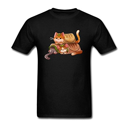 Doriis Men's Hot Dog Hot Pussy Cotton Short Sleeve T (Mummy Hotdogs)