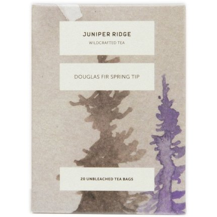 Juniper Ridge Wildharvested Douglas Fir Spring Tip Tea, 20 Unbleached Bags