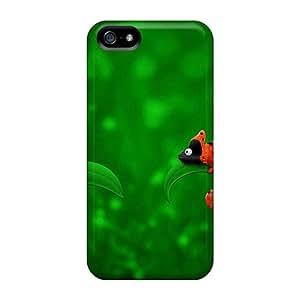 New Iphone 5/5s Case Cover Casing(ladybug Chameleon)