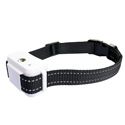 JK TECH Rechargeable Citronella Anti-Bark Collar No Barking Device Humane & Safe Dog Spray Bark Training Collar for Small Medium and Large Dogs (Citronella Collar Black/White)