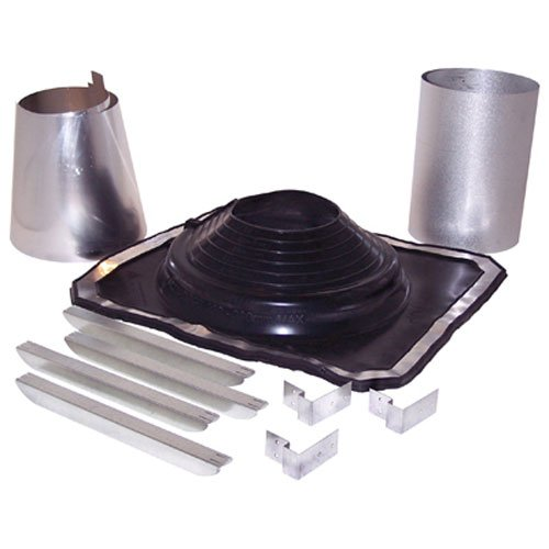 Selkirk Flashing - SELKIRK Corp 200275 Universal Flat Rubber Boot Kit