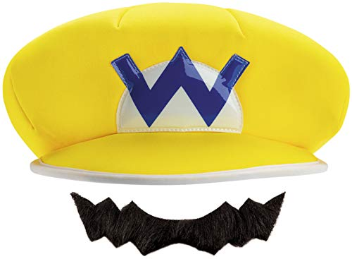 Disguise Mario and Luigi Costume Accessory, Yellow, One Size -