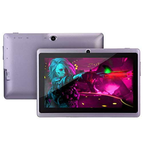 Kids Android Tablets PC | Inkach 7 inch Laptop Computer Tablet Quad-Core Processor, 512MB RAM 8G ROM Dual HD Camera WiFi Tablet with OTG ()