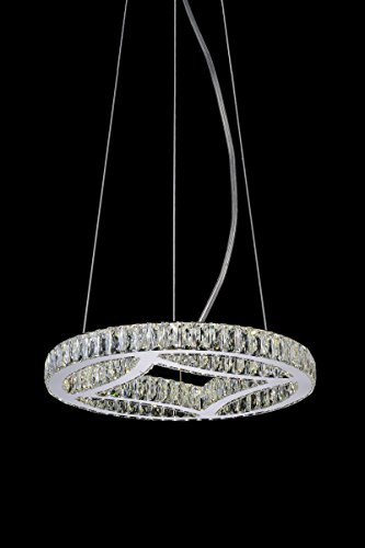 Alexandrine Chrome Chandelier