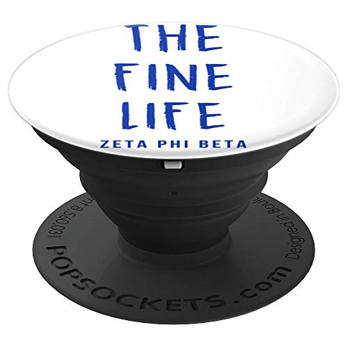 The Fine Life Zeta Phi ZPHI Beta Phone Grip & Stand - PopSockets Grip and Stand for Phones and Tablets