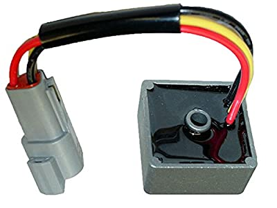 Club Car Voltage Regulator Precedent 4-cycle Gas Golf Cart 1025159-01 1028033-01