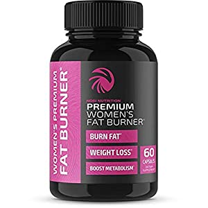 Health Shopping Nobi Nutrition Premium Vegan Fat Burner for Women – Weight Loss Supplement, Appetite Suppressant and Metabolism Booster…