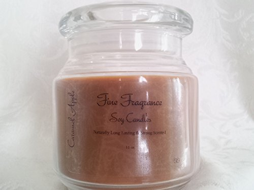 Caramel Apple 16 Oz Jar - Fine Fragrance Soy Candles