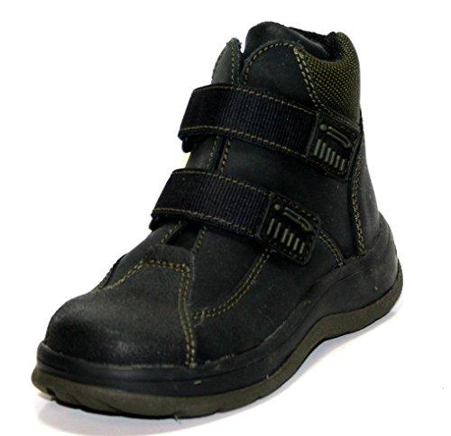 Jela a053 enfants chaussures garçons sandales semi-fermé-noir-taille 25 (sans boîte)